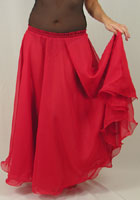 Chiffon Two Layer Skirt