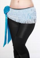 Short Fringed Hip Scarf