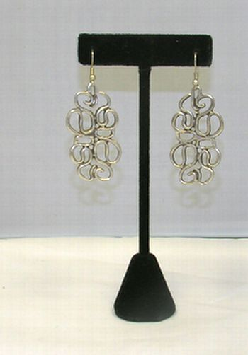 Turkish Free Form Curve Earrings