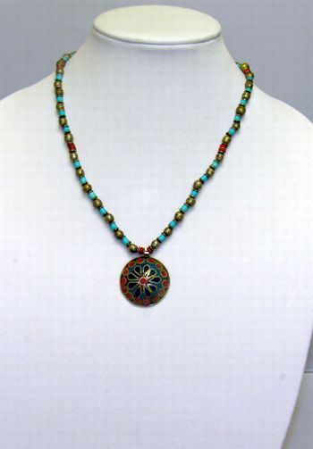 Beaded Turkish Necklace