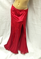 Velvet Mermaid Skirt w/ Side Slit